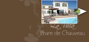 Villa du phare de Chauveau for rent Ile de Ré